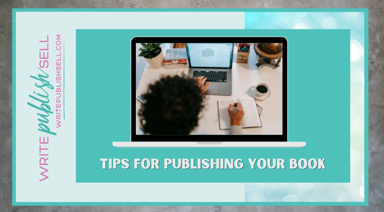 You want to publish a book – now what?