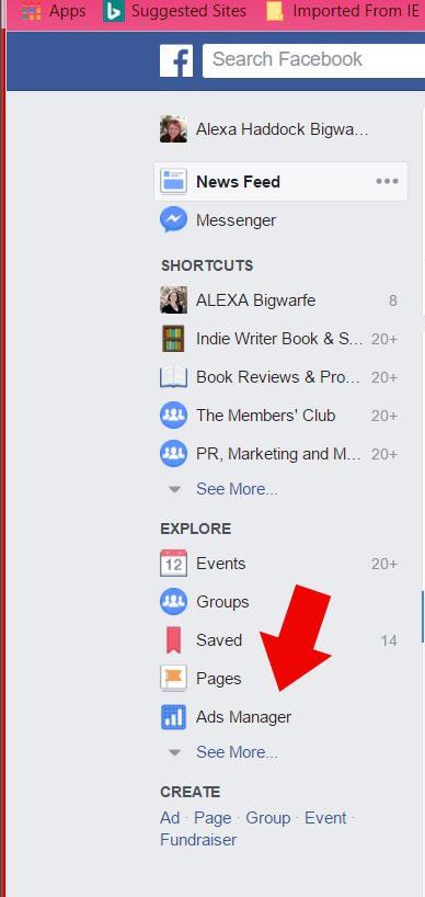 setup facebook ads