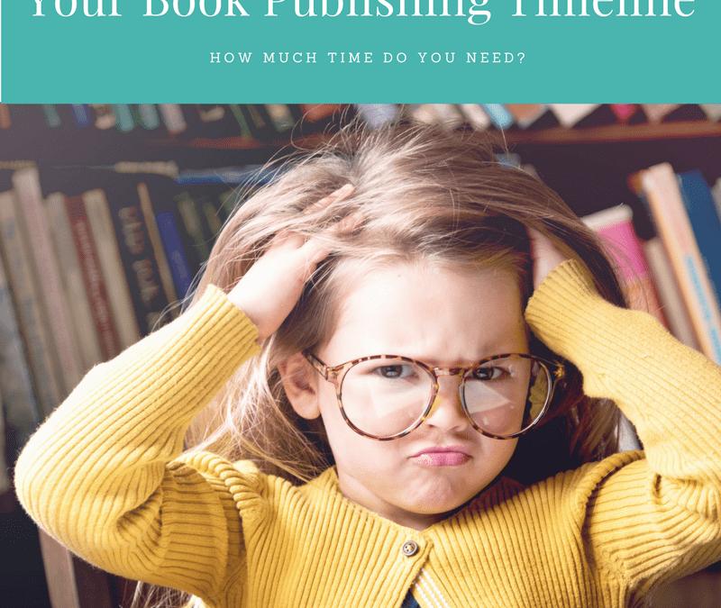 book publishing timeline