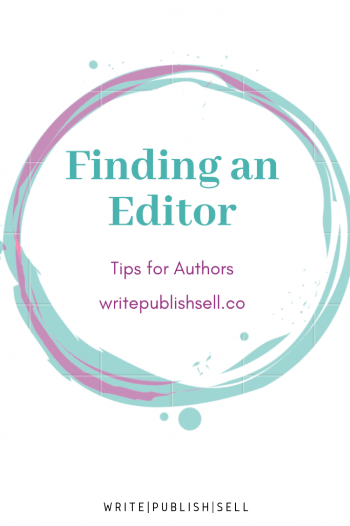 tips for finding an editor