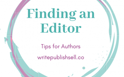 Finding an editor for your book