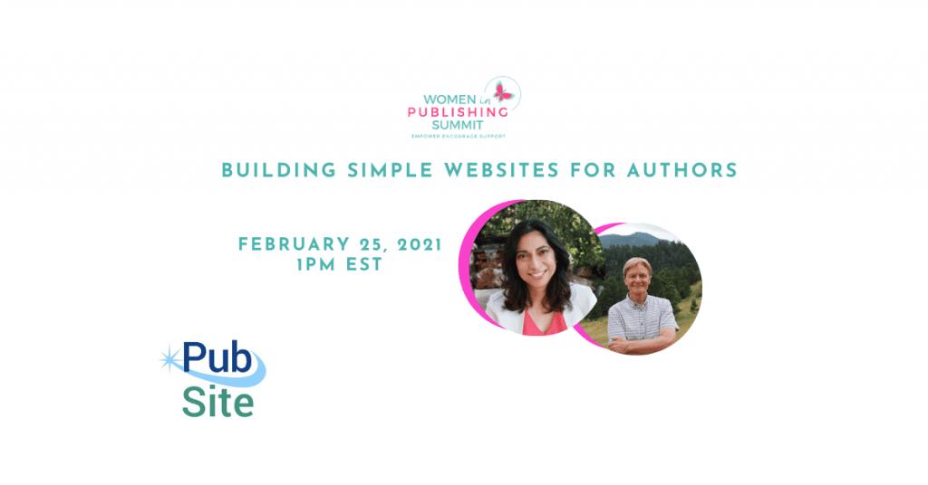 Building simple author websites
