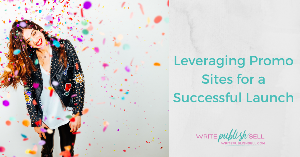 Leveraging promo sites for a successful launch