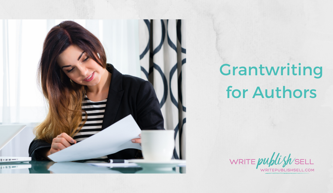 Grantwriting for Authors