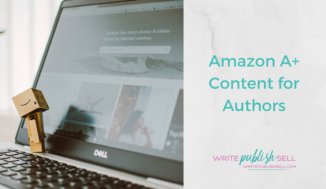 Amazon A+ Content for Authors